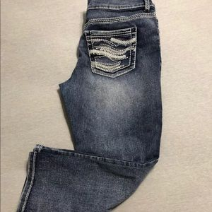 Maurices crop jeans size 5/6